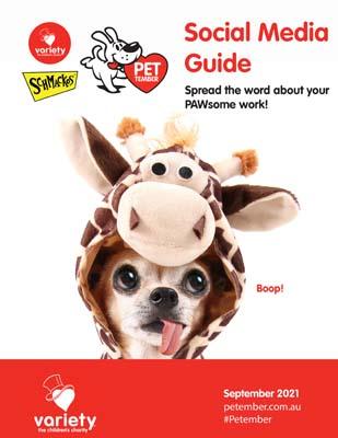 Petember Social Media Guide