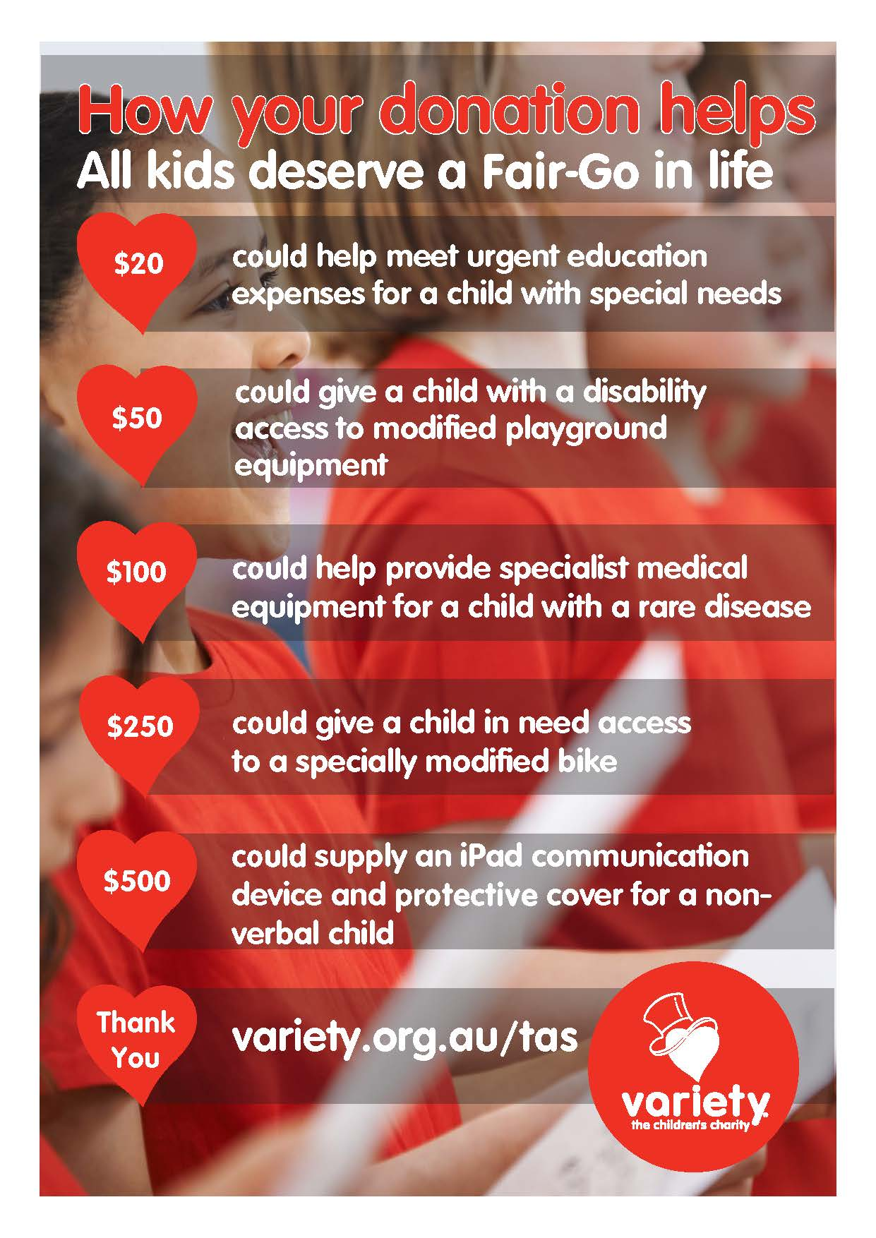 Variety Tas Poster - Your impact