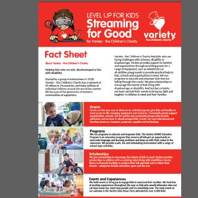Variety Fact Sheet